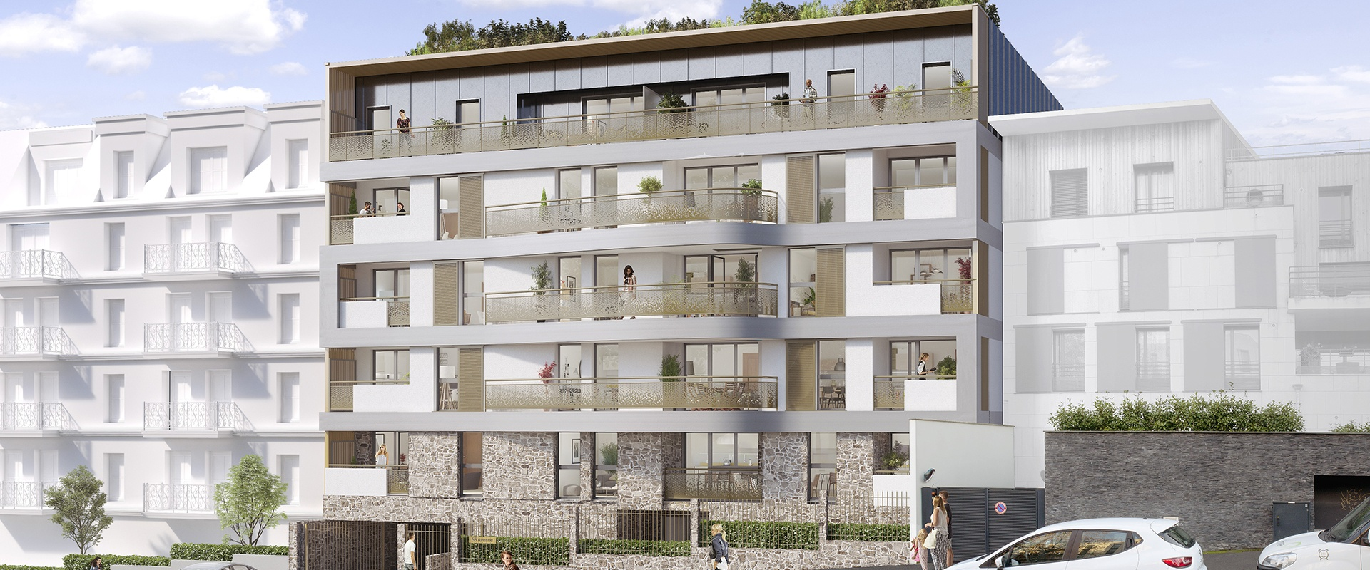 CHÂTILLON (92) – 55 AVENUE – Livraison : Juin 2022