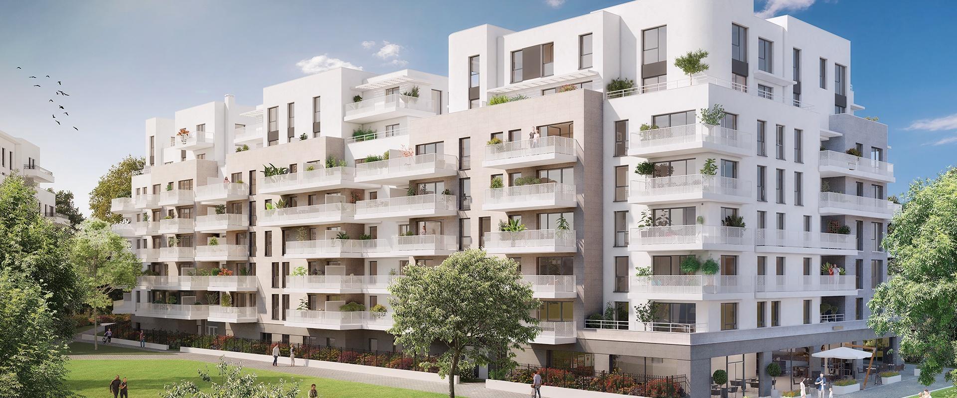 COLOMBES (92) – COEUR DE SEINE / Phase 2 – Livraison : Décembre 2022
