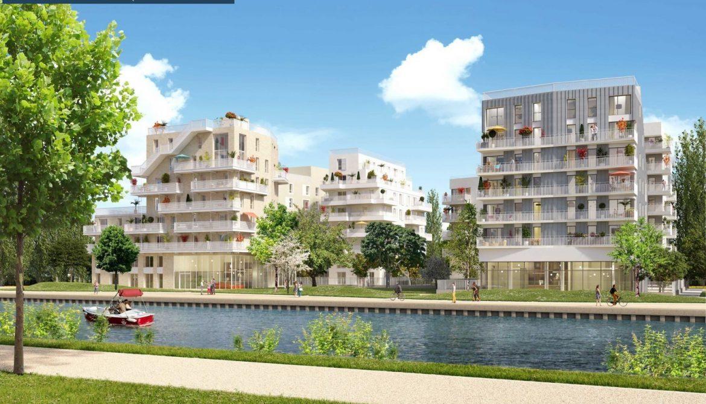 """BONDY (93) – """"Canal Horizon"""" – Livraison : Décembre 2022"""