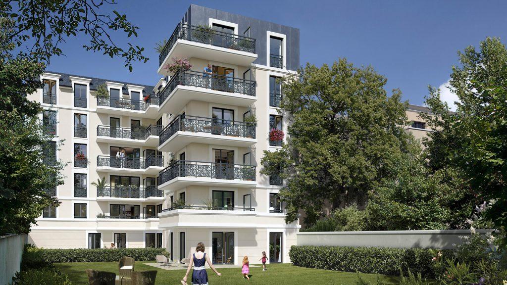 """FONTENAY-AUX-ROSES (92) – """"Villa Boucicaut"""" – Livraison : Décembre 2022"""